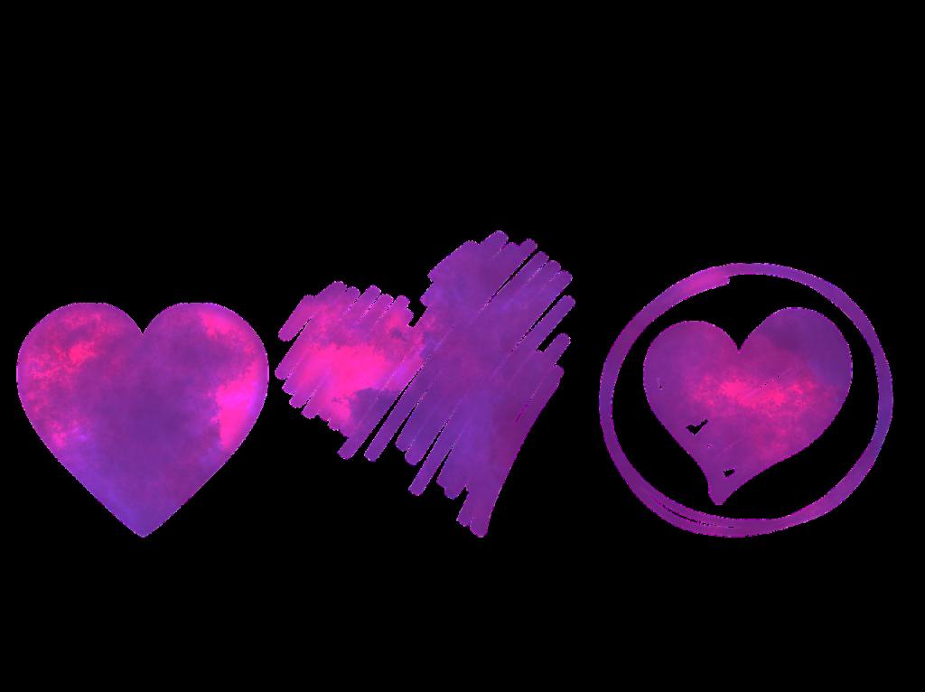 любовни сърца Свети Валентин