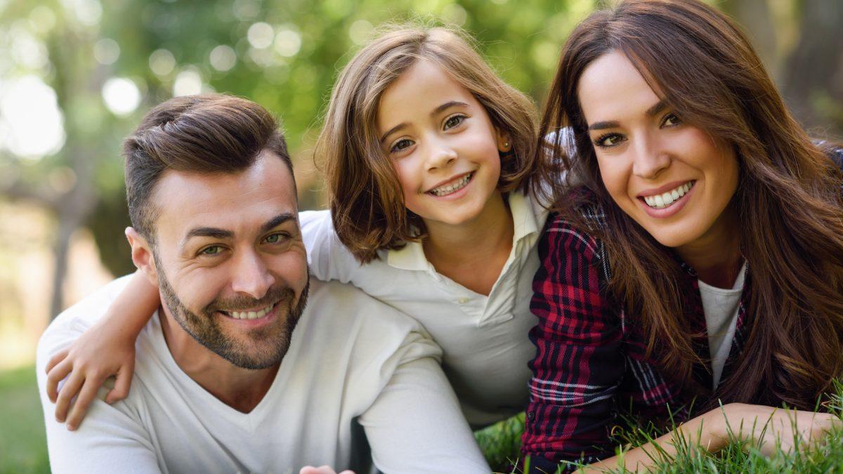 Щастливо младо семейство